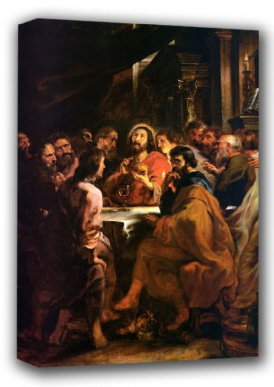 Rubens, Peter Paul: The Last Supper. Fine Art Canvas. Sizes: A3/A2/A1 (001089)